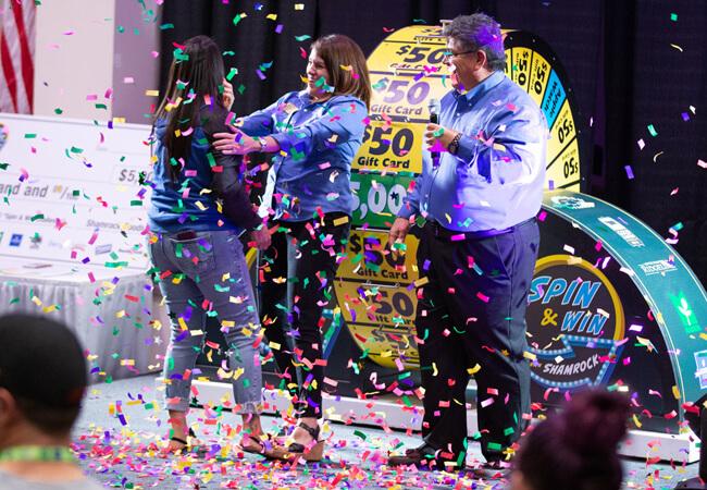 Denver Spin & Win Celebration